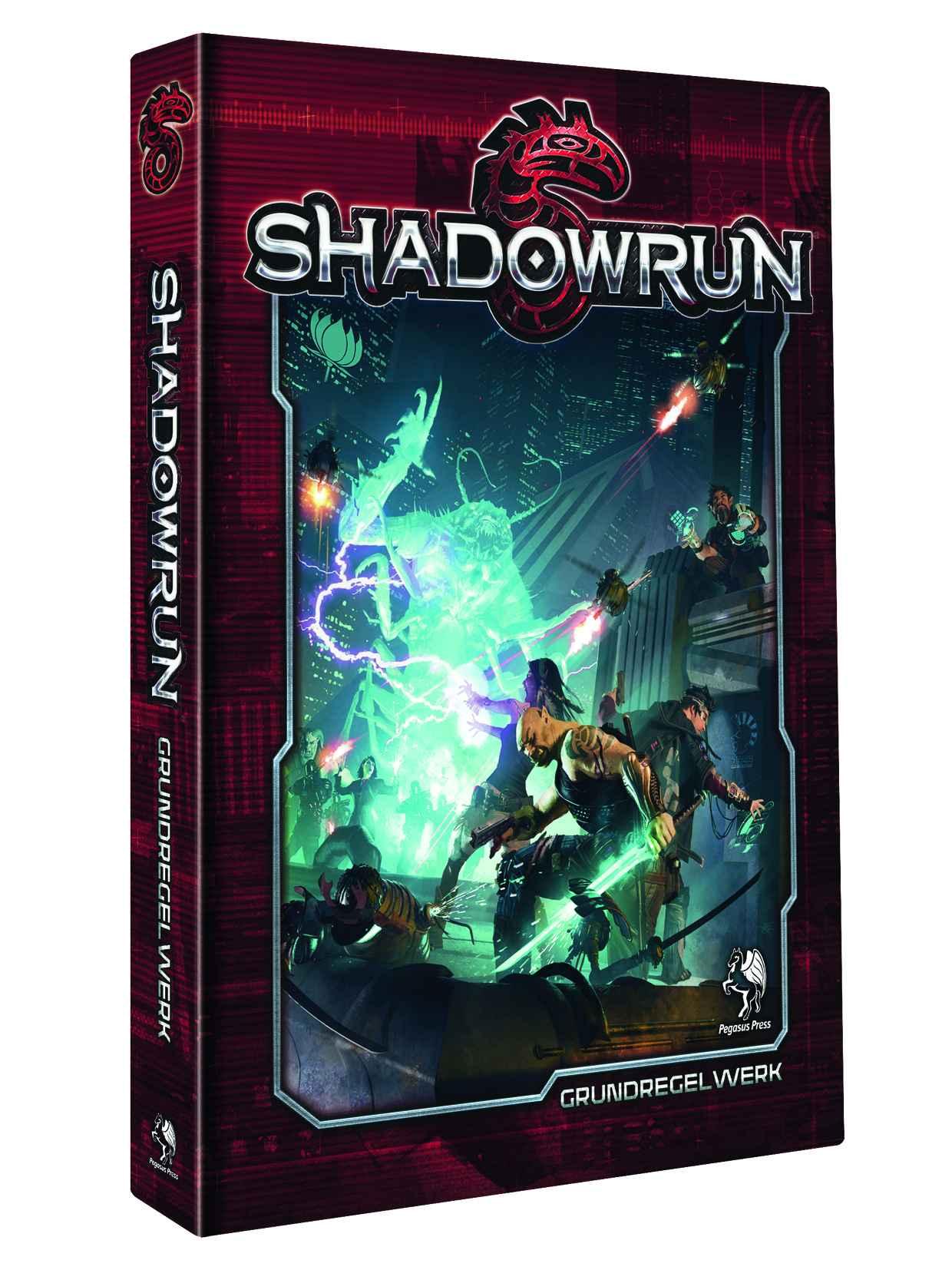 Shadowrun 5 - Grundregelwerk (Pegasus Spiele)