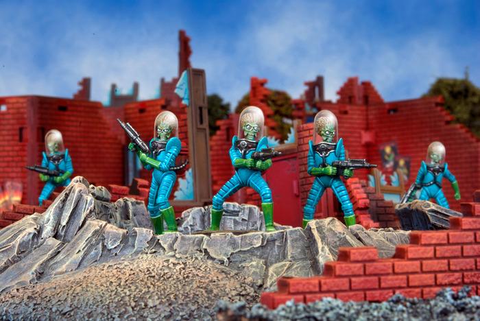 Mars Attacks Kickstarter (Mantic Games)