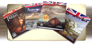 Cthulhu Britannica product line (provided by the Cubicle 7 Entertainment Ltd.)