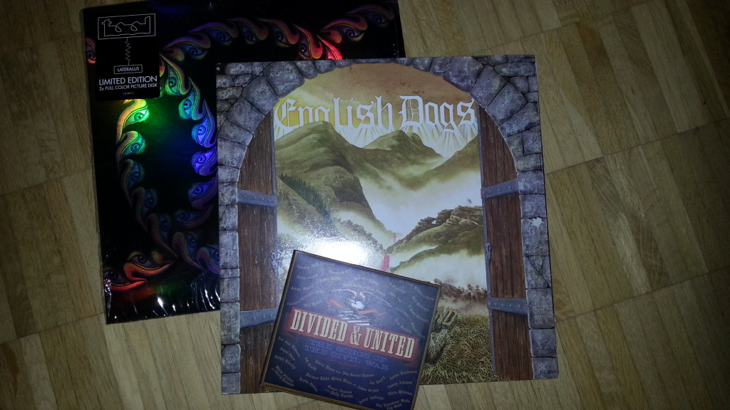 Divided & United: The Songs of the Civil War, Tool: Lateralus & English Dogs: Where the Legend began (Privates Bild)