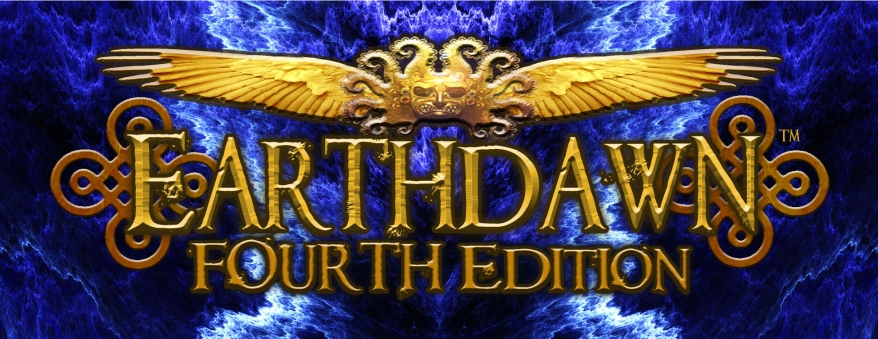 Earthdawn 4th Edition Logo (Fasa Games)