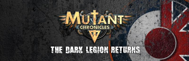 Mutant Chronicles RPG - The Dark Legion Returns (Modiphius Entertainment)