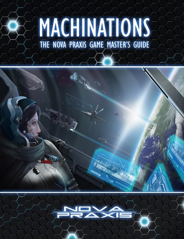 Nova Praxis: Machinations (Early draft version, Image: Void Star Studios)