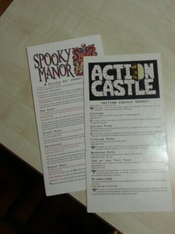 Parseley Games: Spooky Manor & Action Castle (Publisher: Memento Mori)