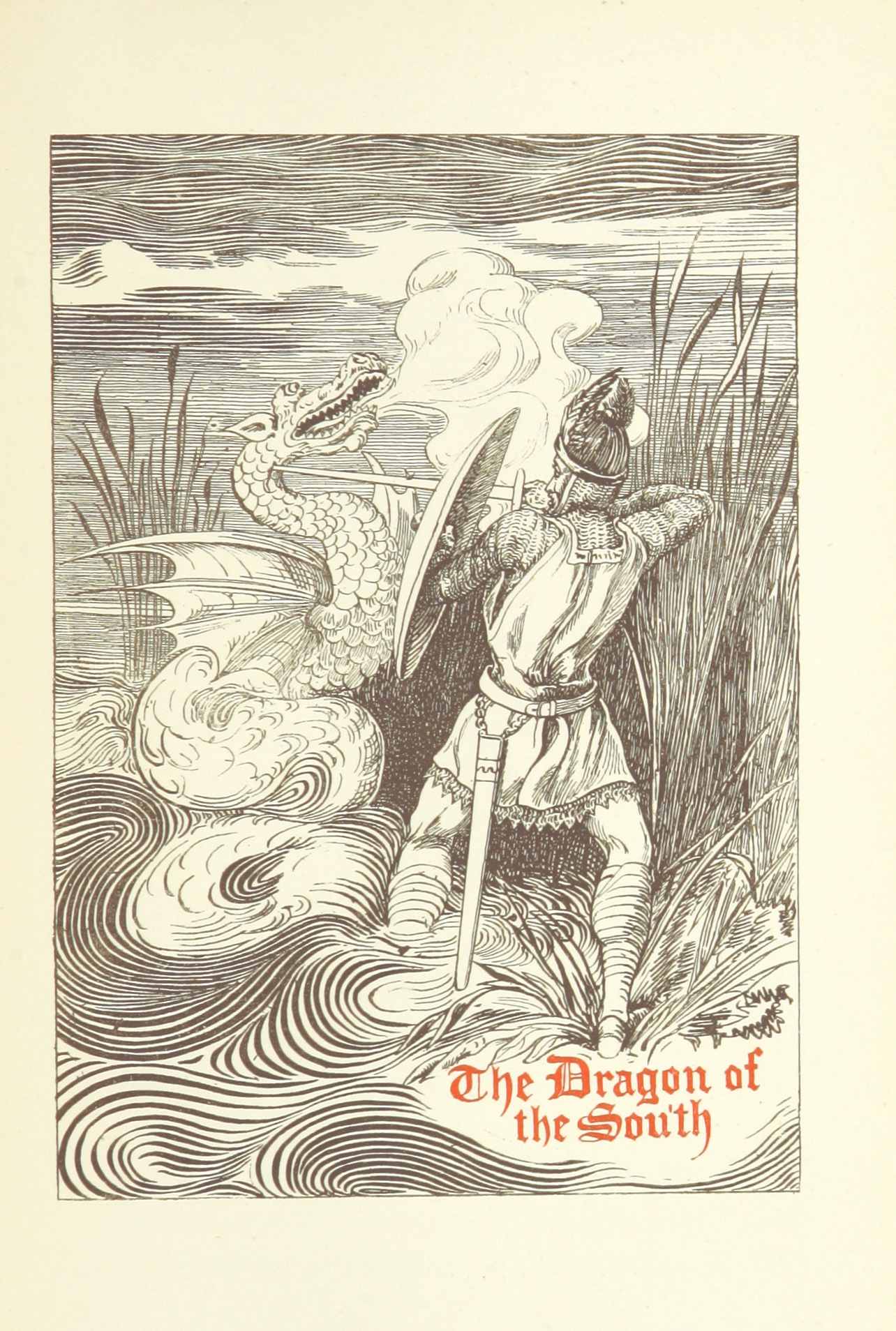 "Dungeons & Dragons Next: Fight against the tyranny of dragons? (British Library Image:  ""The Dragon of the North: a tale of the Normans in Italy"", p. 351)"
