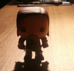Game of Thrones: Sandor Clegane -The Hound Toy (Image: private)