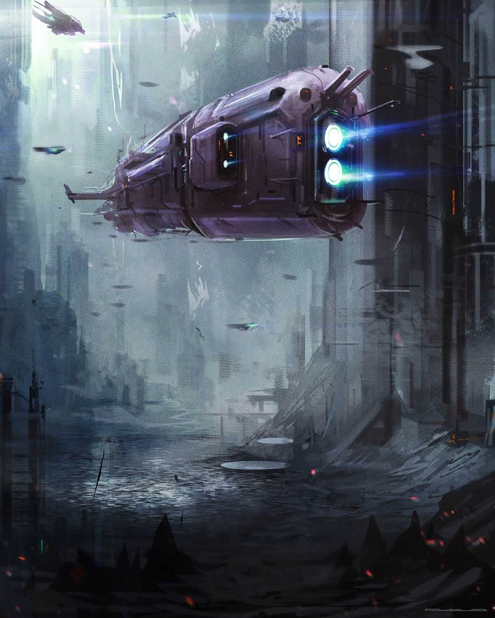 Mutant Chronicles: Space Ship (Image: Modiphius Entertainment)