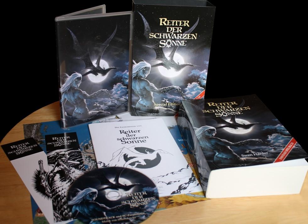 Reiter der Schwarzen Sonne (Special Edition - 3. Auflage, Image: Mantikore-Verlag)