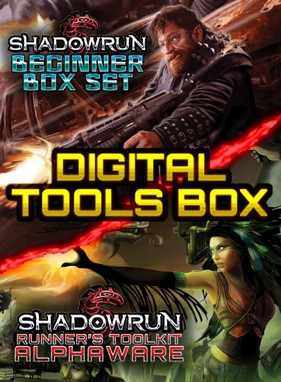 Shadowrun: Digital Tools Box (Image: Catalyst Game Labs)