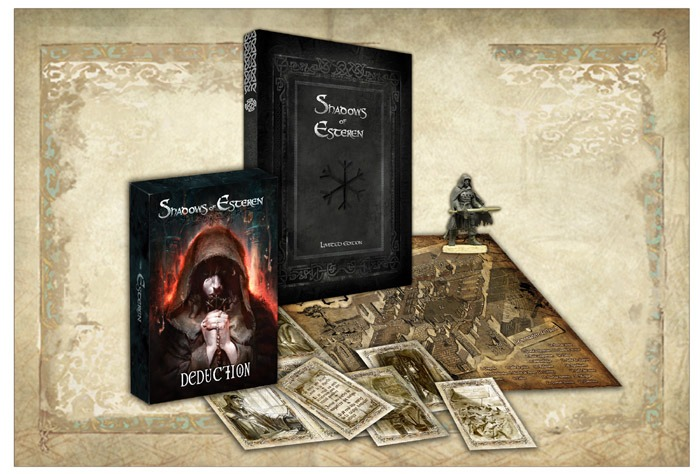 Shadows of Esteren - A Medieval Horror RPG: Tuath - Limited Edition (Image: Studio 2/Agate Editions)