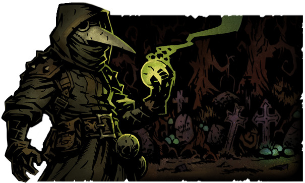 Darkest Dungeon: Plague Doctor (Image: Red Hook Studios)