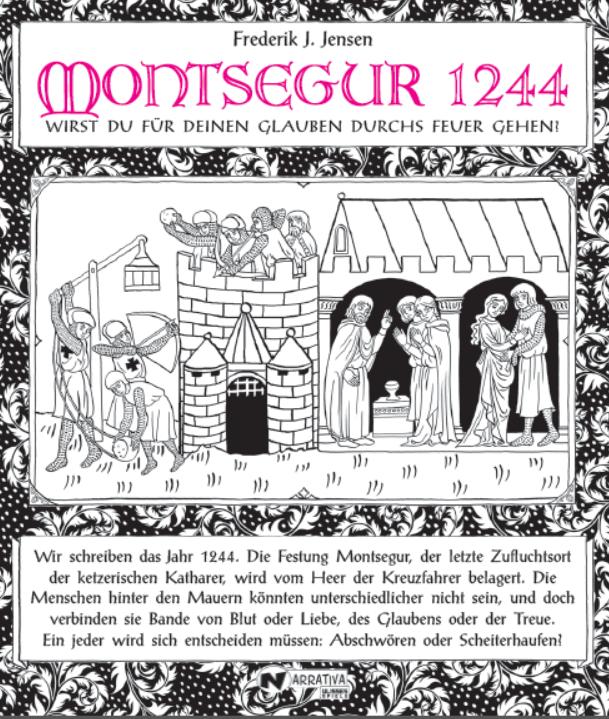 Narrativa - Montsegur 1244 (Image: Ulisses Spiele)
