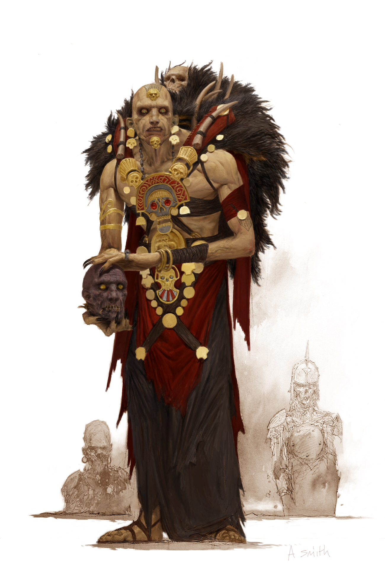 Conan: The Legend - Necromancer (Copyright/Image: Monolith)