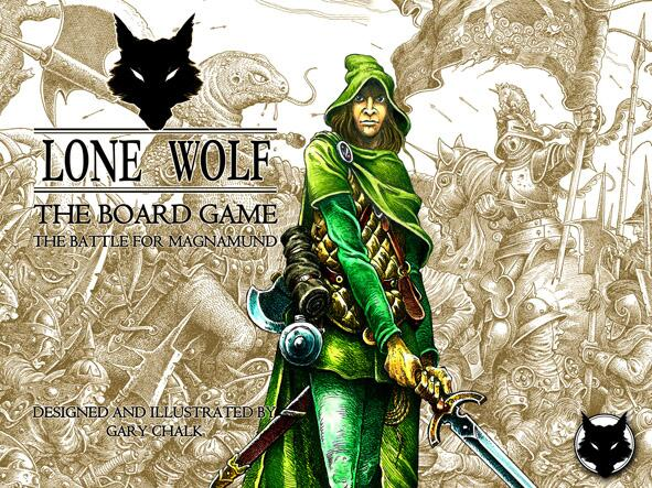 Lone Wolf Board Game (Copyright/Image: Gary Chalk)
