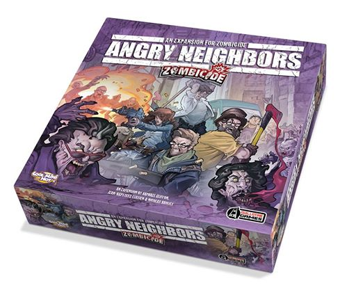 Zombicide Season 3: Angry Neighbors (Copyright/Image: Guillotine Games, CoolMiniOrNot)