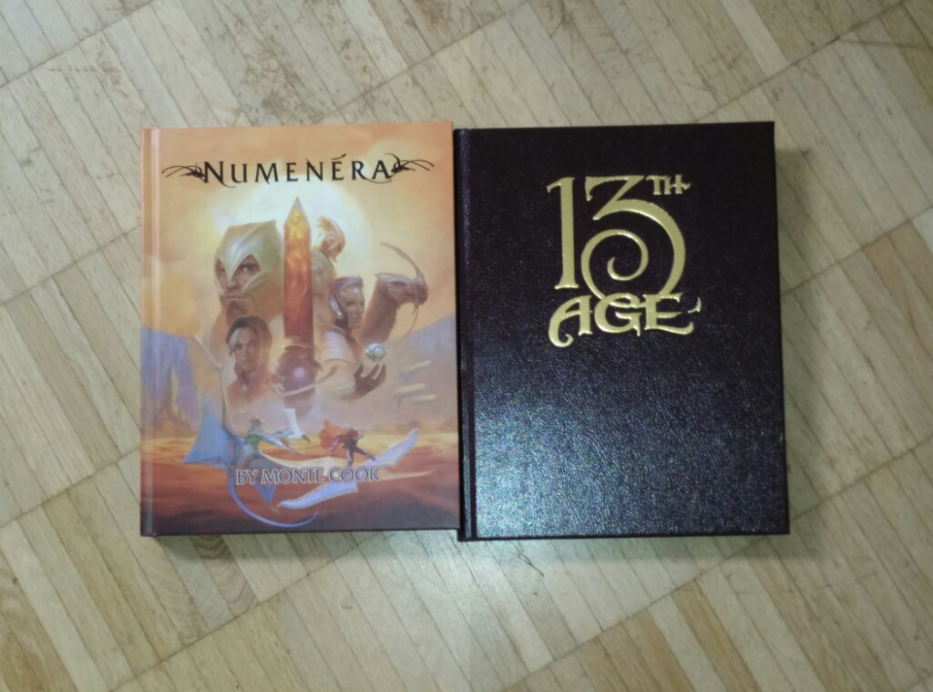 ENnie Awards 2014 - Best Rules: 13th Age (Gold) & Numenera (Silver)
