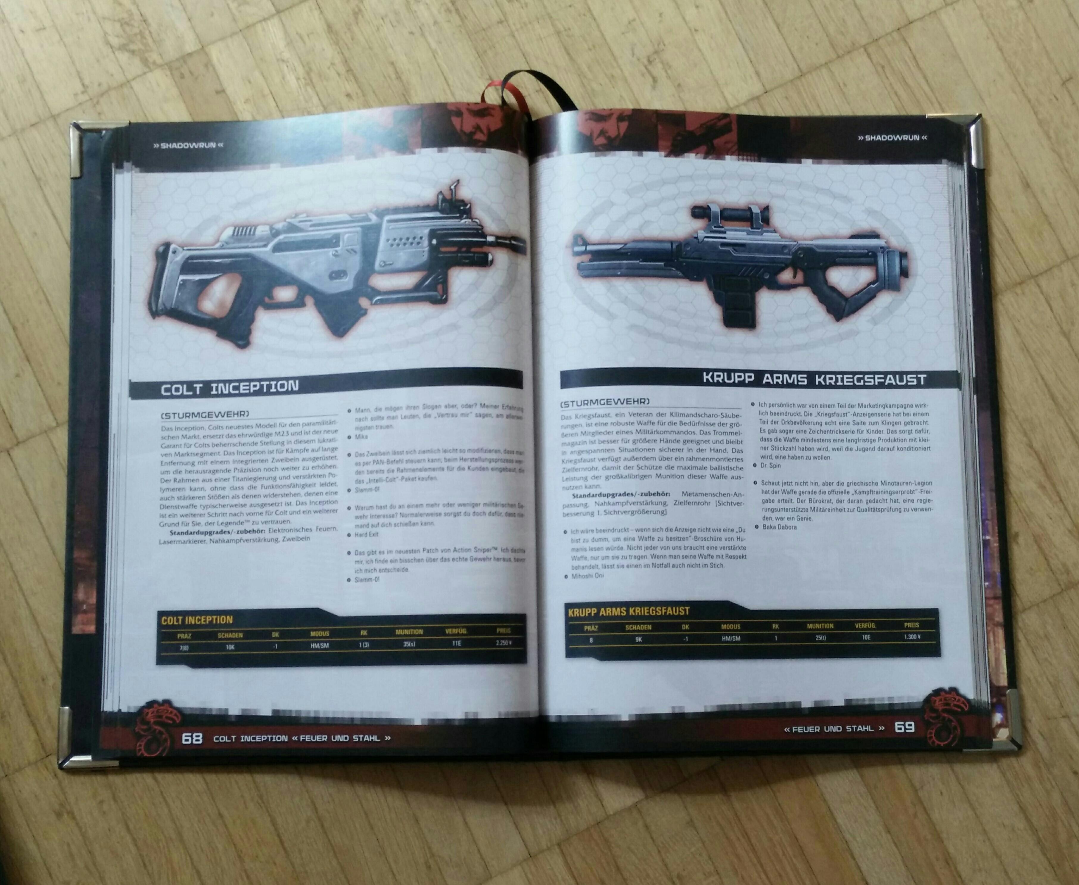 Shadowrun 5 - Schattenhandbuch: Das Gegenteil von gut ist gut gemeint. The Sprawl geht zum Glück andere Wege ... (Image: obskures.de)