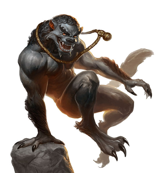 Feng Shui 2: Supernatural Creature (Image: Alex Pascenko / Atlas Games) Creature