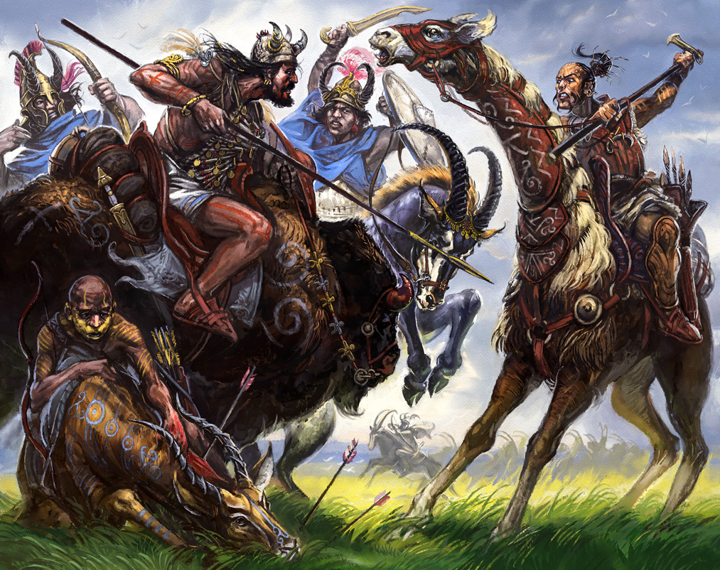 13th Age in Glorantha / Guide to Glorantha: Nomads (Image: Jan Pospisil / Moon Design Publishing)