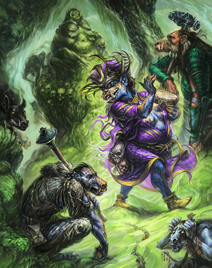 13th Age in Glorantha / Guide to Glorantha: Trolls (Image: Jan Pospisil / Moon Design Publishing)