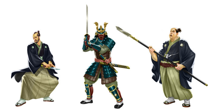 Rise of the Kage: Samurai guards of the Prefecture of Ryu (Image: GCT Studios)