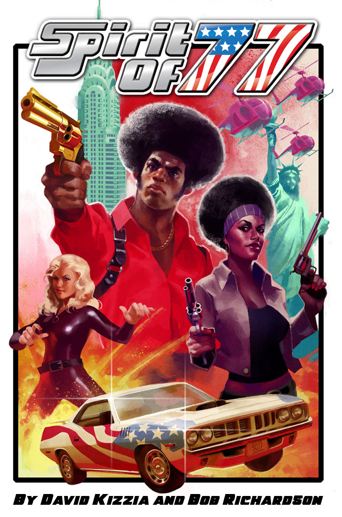 Spirit of 77 - a Funky 1970's Tabletop Role-Playing Game (Image: Monkeyfun Studios, LLC)