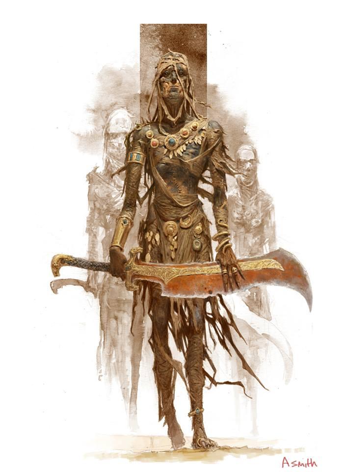 Conan: Hyborian Quest - Mummy (Image: Adrian Smith / Monolith)