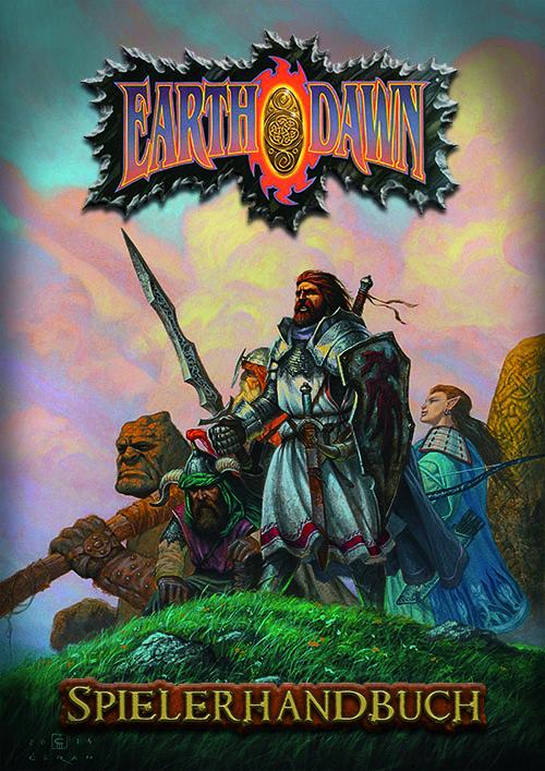 Earthdawn - Spielerhandbuch (4. Edition, Änderungen vorbehalten. Image: Ulisses Spiele)
