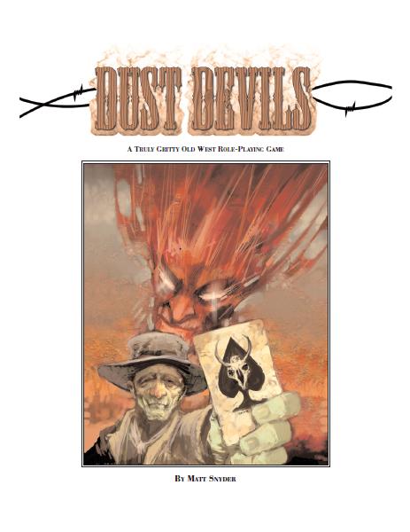 Dust Devils (Image: Jon Hodgson / Matt Snyder)