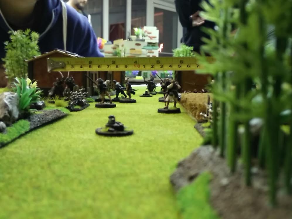 Ronin Skirmish Battle (Terrain: Andreas L., Miniatures: Andreas A. & Thomas H., Image: obskures.de)