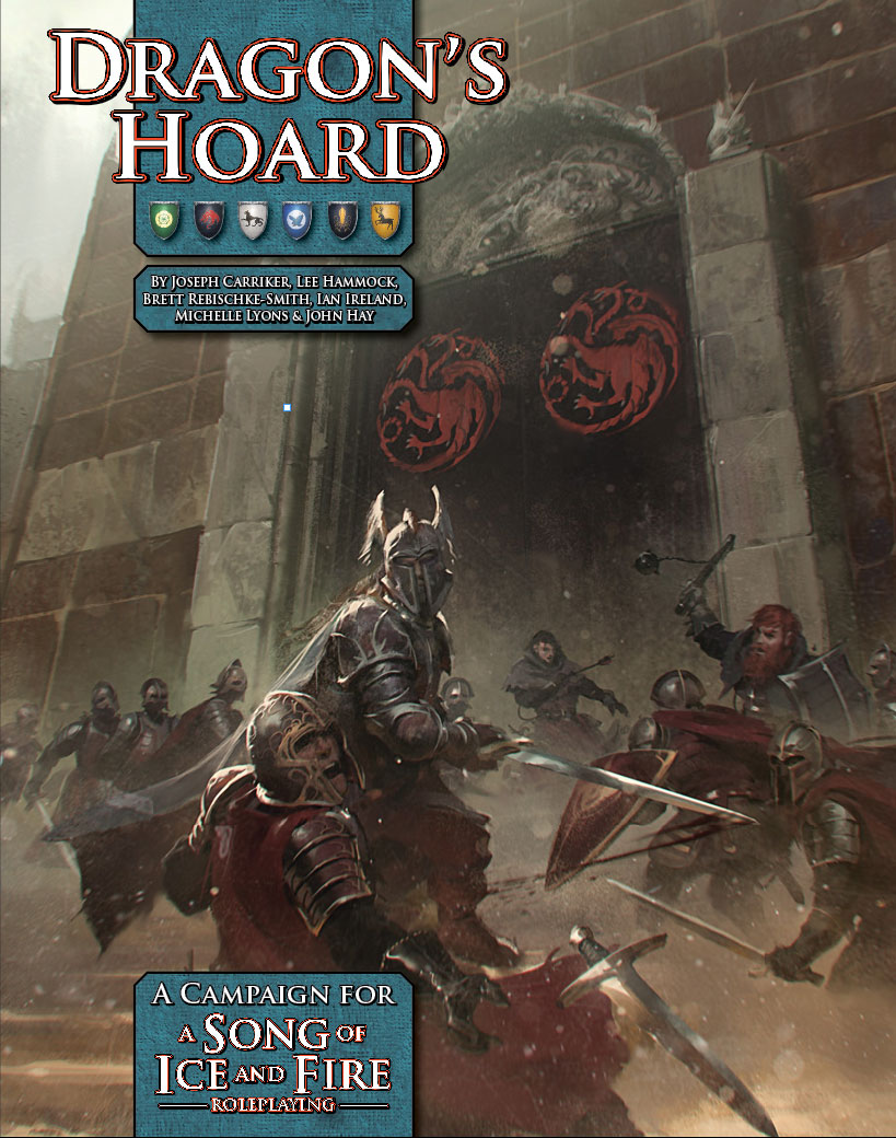 A Song of Ice and Fire Roleplaying: Dragon's Hoard (Image: Green Ronin)