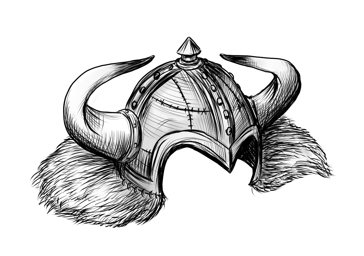 Earthdawn 4 Edition: Hörnerhelm (Image: Ulisses Spiele)