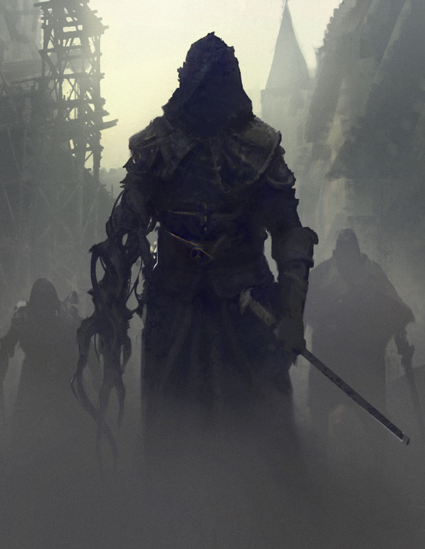 "Symbaroum RPG: ""If the spiritual corruption runs too deep it will affect not only the mind but also the body. It can happen to anyone anywhere, also in cities like Yndaros and Ravenia."" (Image: Järnringen)"