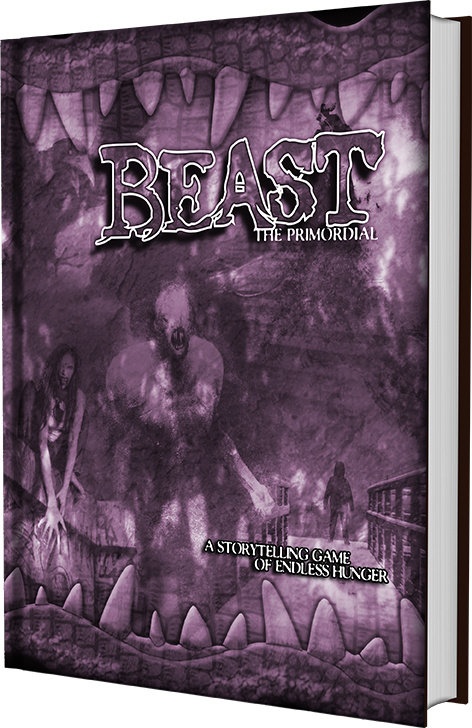 Beast: ThePrimordial (not final Cover) (Image: The Onyx Path)