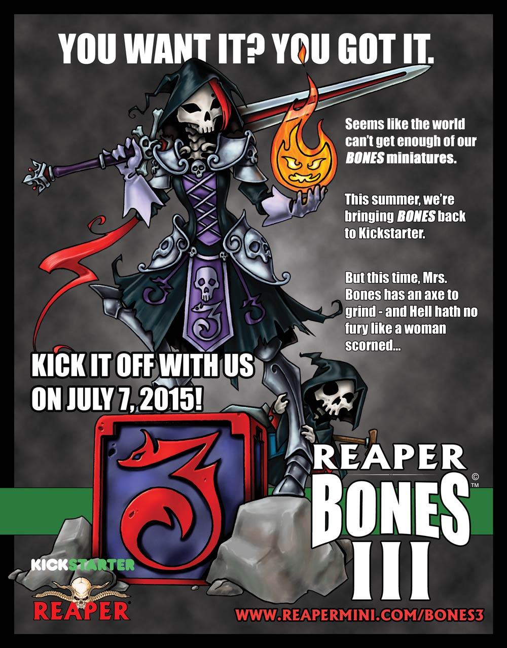 Reaper Miniatures Bones III Teaser (Image: Reaper Miniatures)