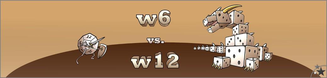 """w6 vs. w12-Banner: Initiator der Herausforderung #gb1t (""""einen ganzen Plot in 134 Zeichen"""") (Image: w6 vs. W12)"""