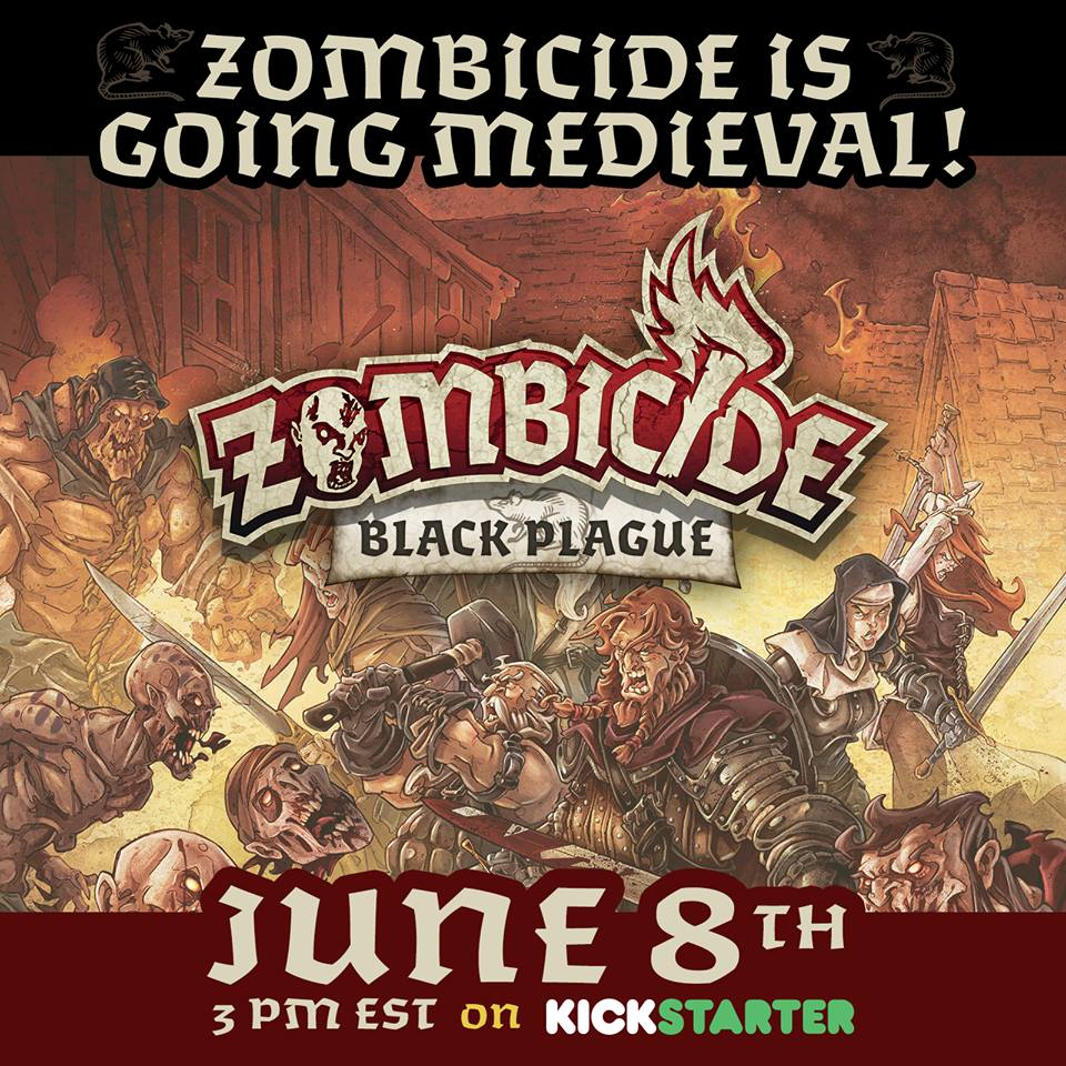 Zombicide: Black Plague announcement (Image: Guillotine Games)