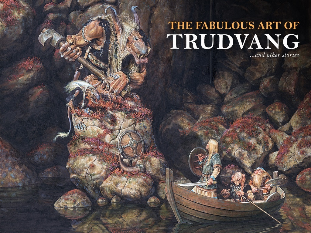 The Fabulous Art of Trudvang (Image: Paul Bonner / Riotminds)