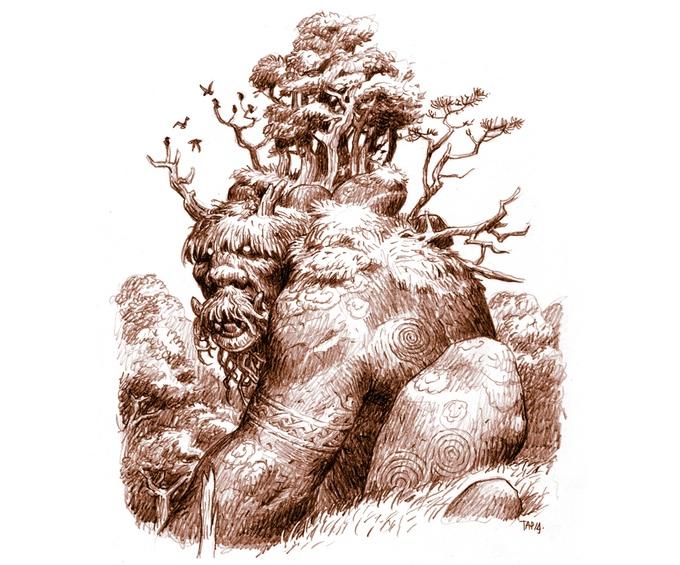 The Fabulous Art of Trudvang: Giants (Image: Riotminds)