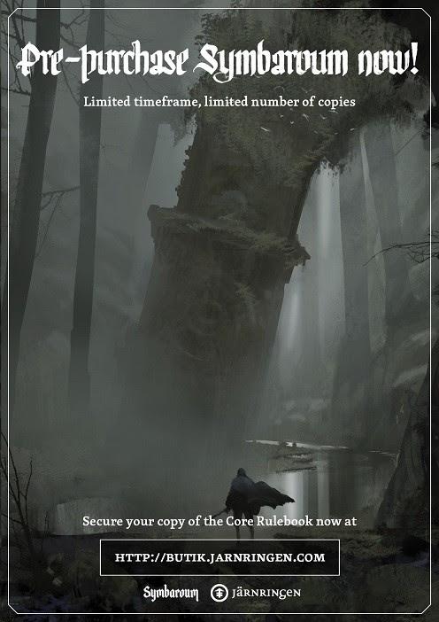 Symbaroum RPG: Pre-Purchase (Image: Järnringen)