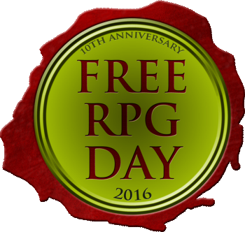 Free RPG Day - Saturday June 18, 2016 (Image: Impressions Game Distribution Services)