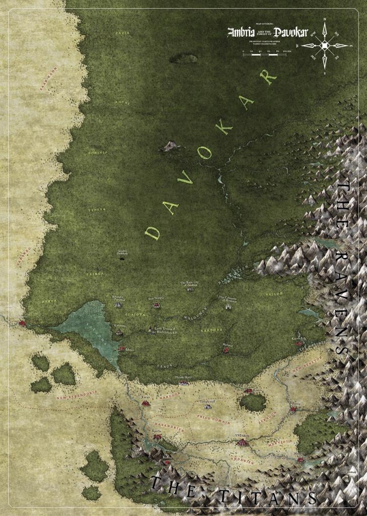 Symbaroum RPG: Map (Image: Järnringen/Modiphius)