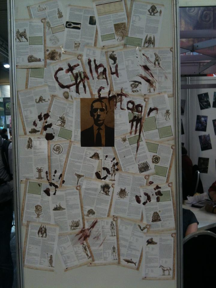 Cthulhu: Messe Promotion (Image: Pegaus Spiele / Christian Schaller)