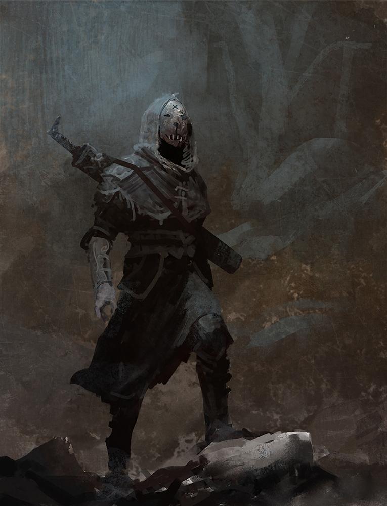 Symbaroum RPG: Masked Stranger (Image: Järnringen)