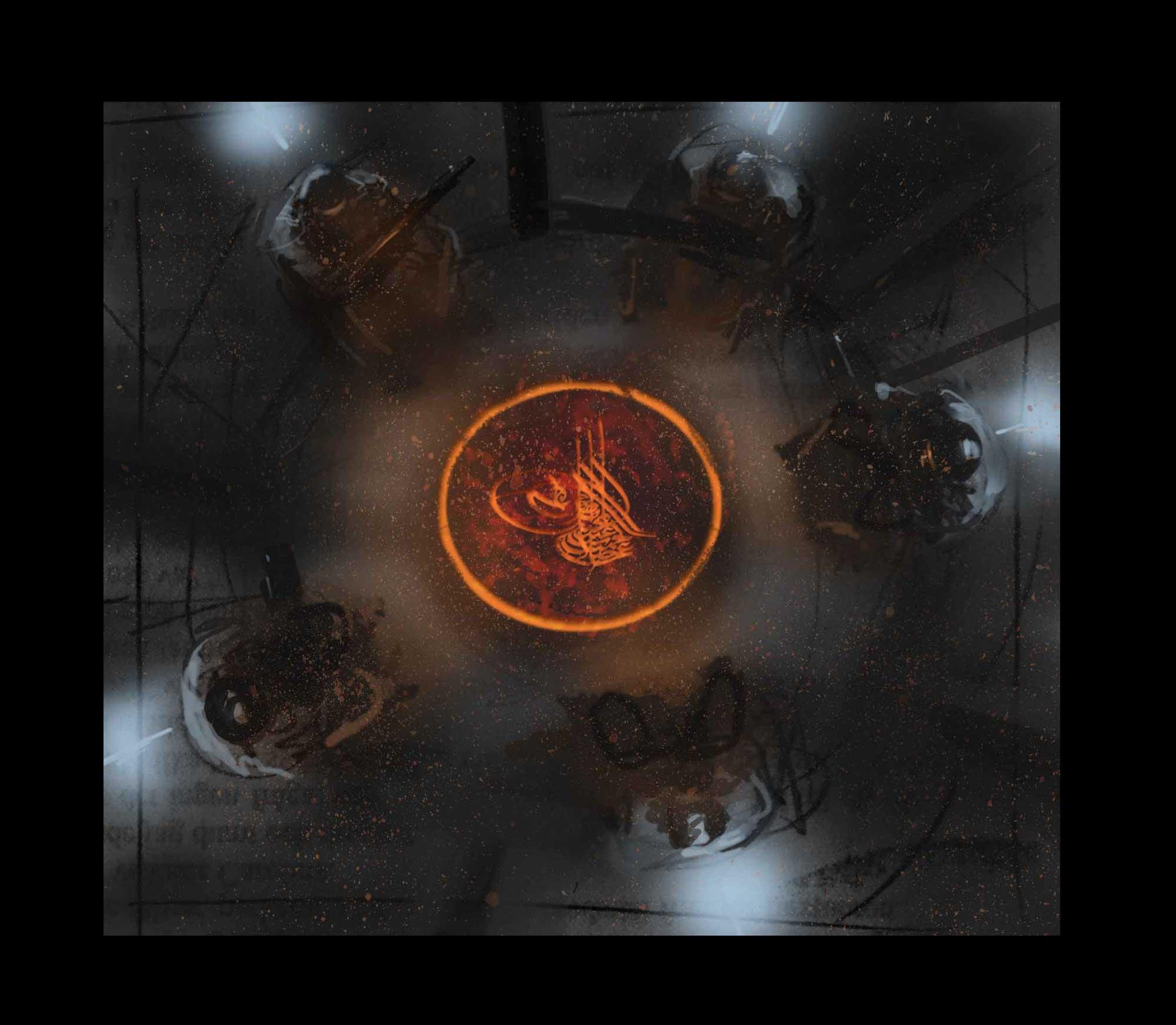 Coriolis - The Third Horizon: Guys (Image: Fria Ligan / Free League Publishing)