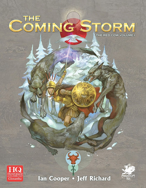 Heroquest (Glorantha): The Coming Storm (Image: Chaosium)