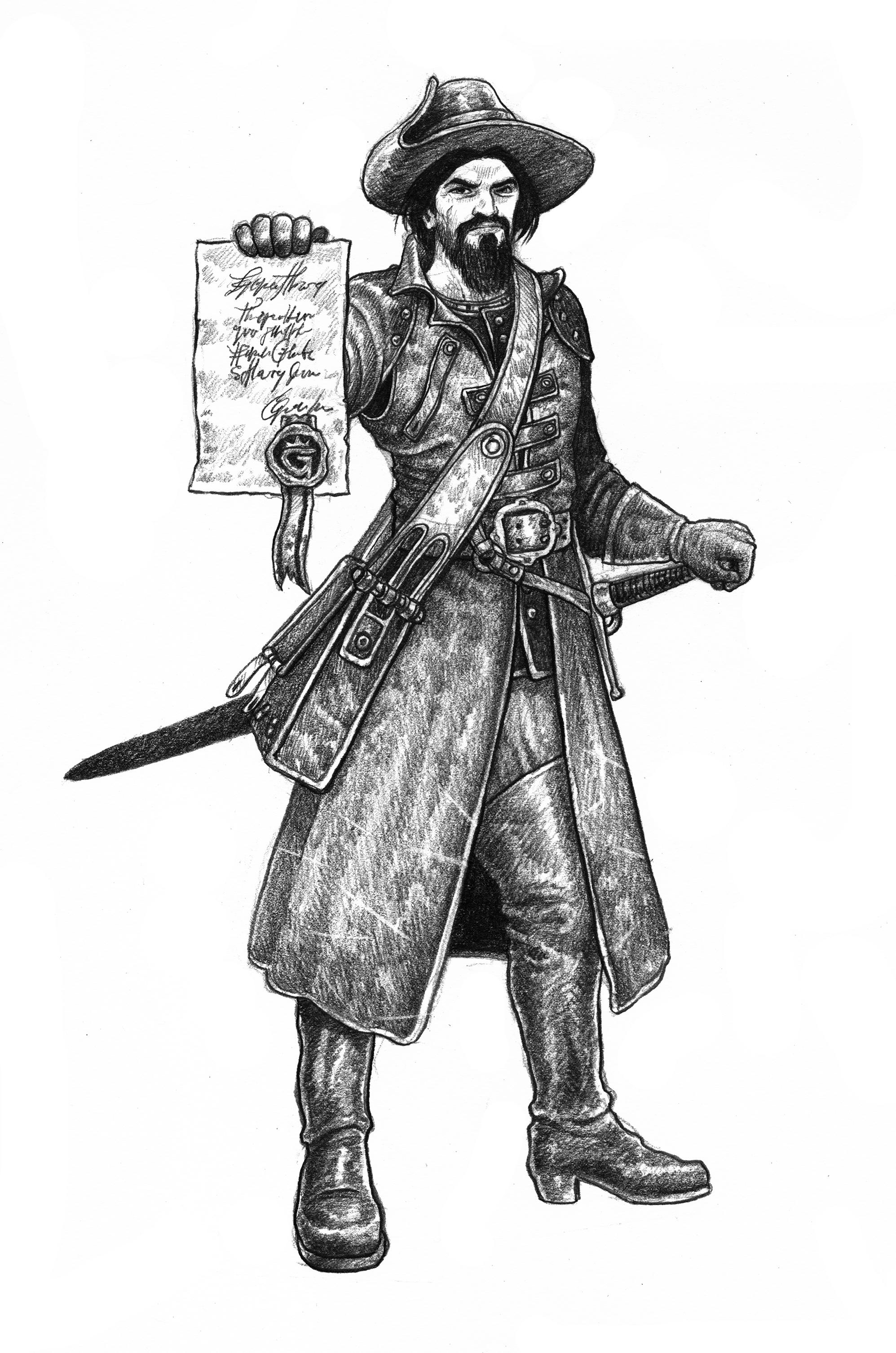 ZWEIHÄNDER Grim & Perilous RPG: Baillif (Image: Grim & Perilous Studios)