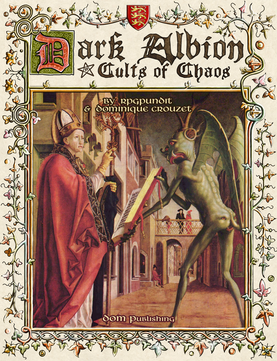 Dark Albion: Cults of Chaos (Image: DOM Publishing)