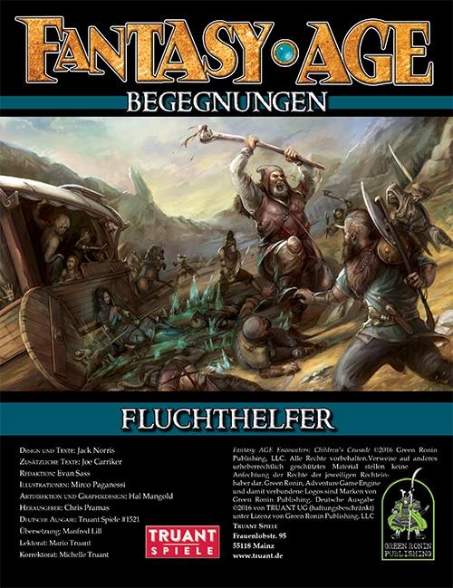 Fantasy Age - Begegnungen #01 - Fluchthelfer (Image: Truant Spiele)