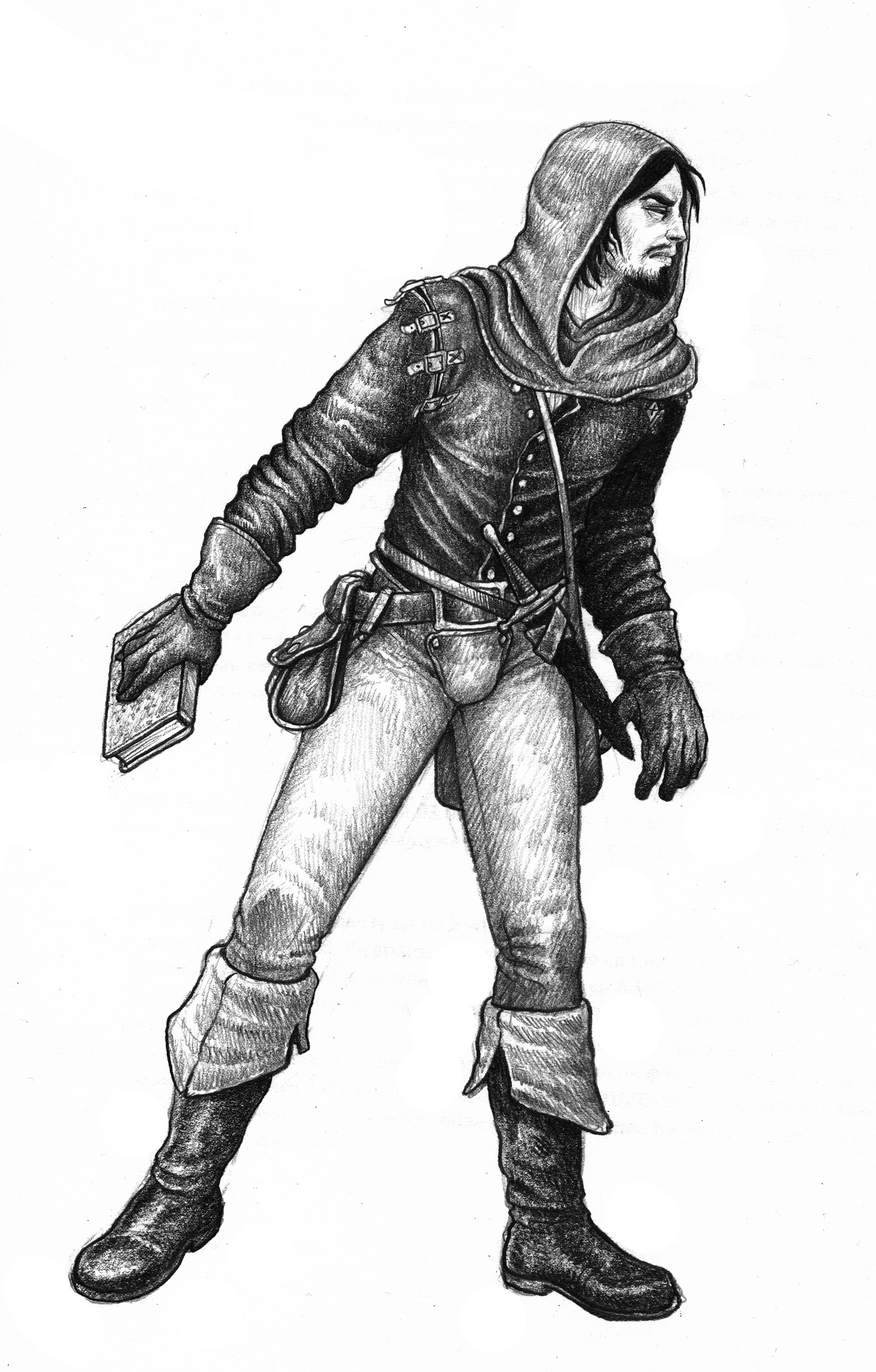 ZWEIHÄNDER Grim & Perilous RPG: Informer (Image: Grim & Perilous Studios)